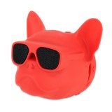 Dog Head Shape Universal Car Air Outlet Aromatherapy (Red)