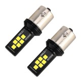 2 PCS 1156 DC9-16V / 3.5W Car Auto Turn Lights 12LEDs SMD-ZH3030 Lamps, with Constant Current (White Light)