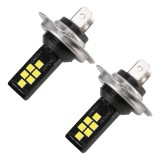 2 PCS H7 DC9-16V / 3.5W / 6000K / 320LM Car Auto Fog Light 12LEDs SMD-ZH3030 Lamps, with Constant Current (White Light)