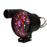 5 inch 12V Universal Car Modified Instrument Panel LCD Display Oil Press Gauge Tachometer Water / Oil Temperature Gauge