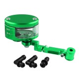 Motorcycle Modification Parts Front Brake Fluid Oil Universal Brake Oil Cup for Kawasaki / Suzuki (Green)