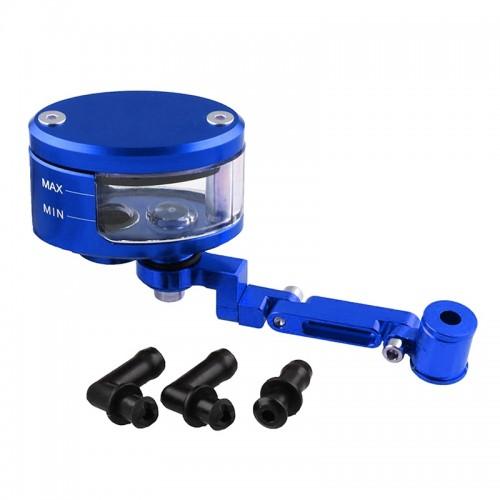 Motorcycle Modification Parts Front Brake Fluid Oil Universal Brake Oil Cup for Kawasaki / Suzuki (Blue)