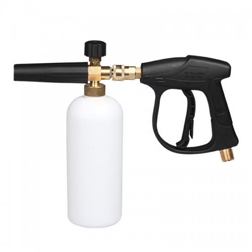 High Pressure Car Wash Foam Gun Soap Foamer Generator Water Sprayer Gun, Outer Wire: 18x1.5
