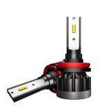 2 PCS 1901 H8 / H9 /H11 DC9-36V 14W 6000K 1400LM IP68 Car LED Headlight Lamps (White Light)