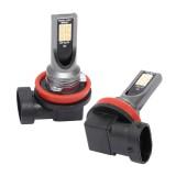 2 PCS H11 / H8 DC12V-24V / 12W / 3000K / 800LM 12LEDs SMD-3030 Car LED Fog Light (Yellow Light)