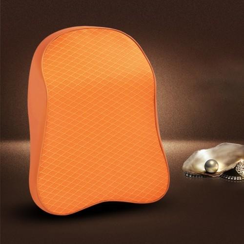 Four Seasons Breathable Memory Foam Car Neck Pillow Polyester Headrest (Yellow)