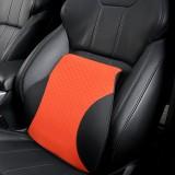 Four Seasons Breathable Memory Foam Car Lumbar Pillow Polyester Pillow (Orange)