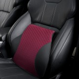 Four Seasons Breathable Memory Foam Car Lumbar Pillow Polyester Pillow (Red)