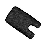 Universal Baby Car Cigarette Lighter Plug Seat Cover Warm Seat Heating Baby Electric Seat Heating Pad, Size: 215x (330+130)x8mm (Black)
