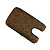 Universal Baby Car Cigarette Lighter Plug Seat Cover Warm Seat Heating Baby Electric Seat Heating Pad, Size: 215x (330+130)x8mm (Brown)