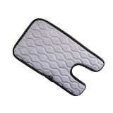 Universal Baby Car Cigarette Lighter Plug Seat Cover Warm Seat Heating Baby Electric Seat Heating Pad, Size: 290x (375+180)x8mm (Grey)