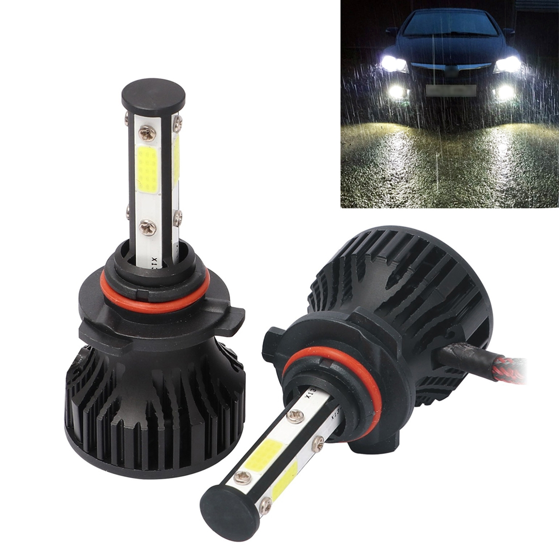 2 PCS X15 9005 DC9-32V 26W 6500K 3000LM IP67 Car LED Headlight Lamps / Fog Light (White Light)