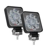 D0036 6.3W 10-30V DC 6000K 3 inch 9 LEDs Square Offroad Truck Car Driving Light Work Light Spotlight Fog Light