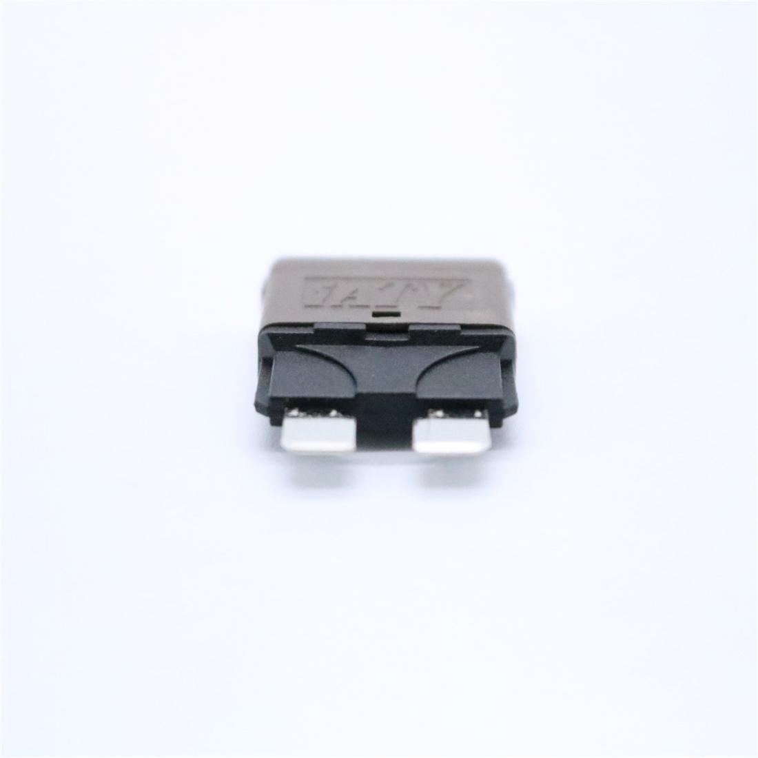 7.5AMP DC28V Circuit Breaker Trip Fuses Standard Blade Fuse Manual Reset
