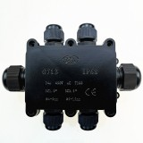G713 IP68 Waterproof Six-way Junction Box for Protecting Circuit Board