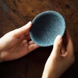 Non-porous Alumina Ore Tea Filter Creative Ceramic Filter Tea Strainer Tea Accessories (Non-porous rough bottom)