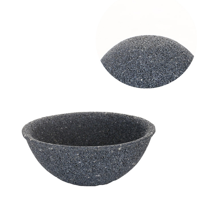 Non-porous Alumina Ore Tea Filter Creative Ceramic Filter Tea Strainer Tea Accessories (Round section coarse pore filtration)
