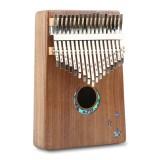 Thumb Piano Kalimba 17-tone Finger Piano Beginners Entry Portable Musical Instrument Kalimba Finger Piano (Moon)
