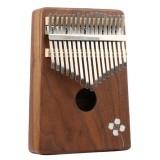 Thumb Piano Kalimba 17-tone Finger Piano Beginners Entry Portable Musical Instrument Kalimba Finger Piano (Acacia)