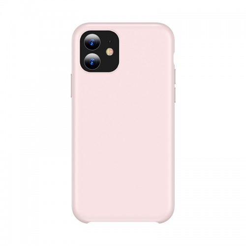 For iPhone 11 TOTUDESIGN Liquid Silicone Dropproof Coverage Case (Pink)