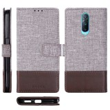 For OPPO R17 Pro MUXMA MX102 Horizontal Flip Canvas Leather Case with Stand & Card Slot & Wallet Function (Brown)