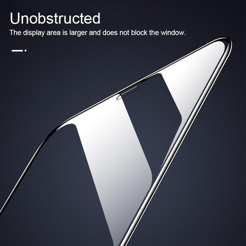 For Vivo iQOO Pro 9H HD Large Arc High Alumina Full Screen Tempered Glass Film