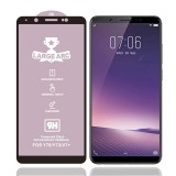 For Vivo V7 Plus 9H HD Large Arc High Alumina Full Screen Tempered Glass Film