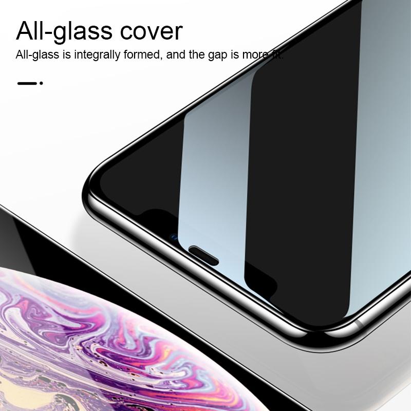 For Vivo X23 25 PCS 9H HD Large Arc High Alumina Full Screen Tempered Glass Film