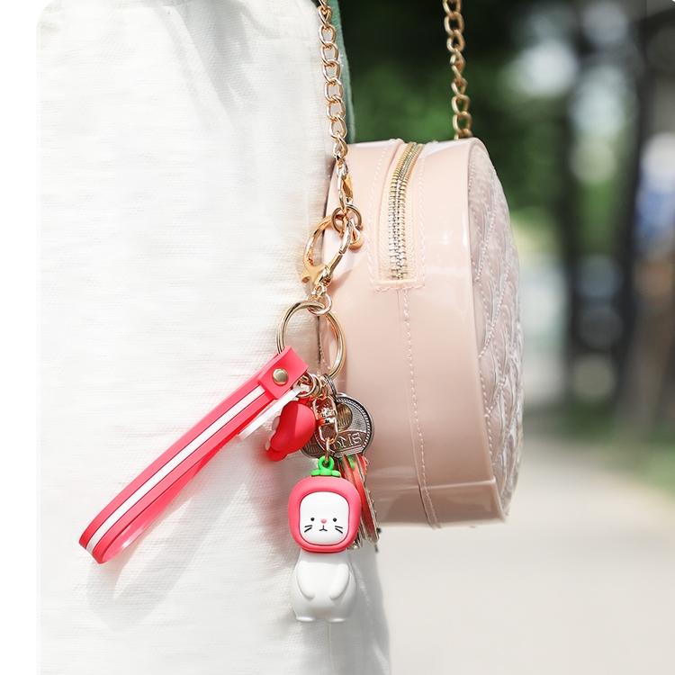 JOYROOM FM-Y01 ADOONGA Cat Style Keychain Decoration (Grey)