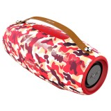 ZEALOT S27 Multifunctional Bass Wireless Bluetooth Speaker, Built-in Microphone, Support Bluetooth Call & AUX & TF Card & 1x93mm + 2x66mm Speakers (Camouflage Red)