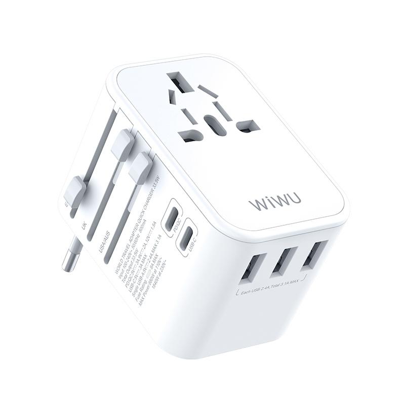 WIWU UA303 多功能国际充电器 (https://www.wiwu.net.cn/) 国际充电器 第1张