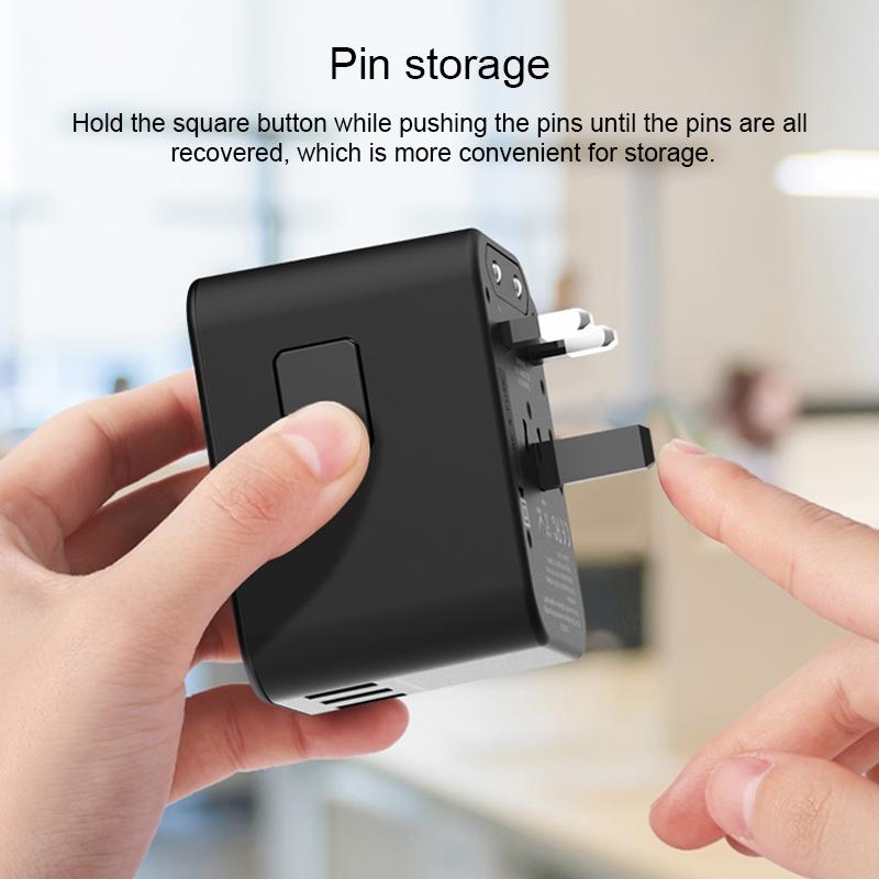 WIWU UA303 多功能国际充电器 (https://www.wiwu.net.cn/) 国际充电器 第6张