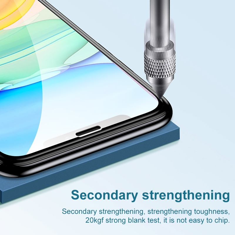 For iPhone 11 TOTUDESIGN Unbroken Edges HD Tempered Glass Film