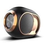 X6 TWS Outdoor Waterproof Bass Wireless Bluetooth Speaker, Support Hands-free / USB / AUX / TF Card (Black)