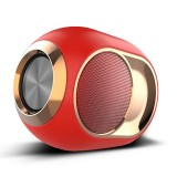 X6 TWS Outdoor Waterproof Bass Wireless Bluetooth Speaker, Support Hands-free / USB / AUX / TF Card (Red)