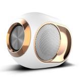 X6 TWS Outdoor Waterproof Bass Wireless Bluetooth Speaker, Support Hands-free / USB / AUX / TF Card (White)