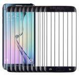 25 PCS For Galaxy S6 Edge 0.3mm 9H Surface Hardness 3D Curved Full Screen Cover Explosion-proof Tempered Glass Film (Black)