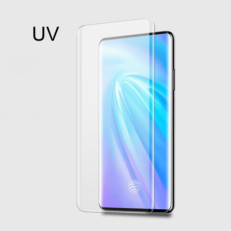 UV Liquid Curved Full Glue Tempered Glass for Vivo Nex 3