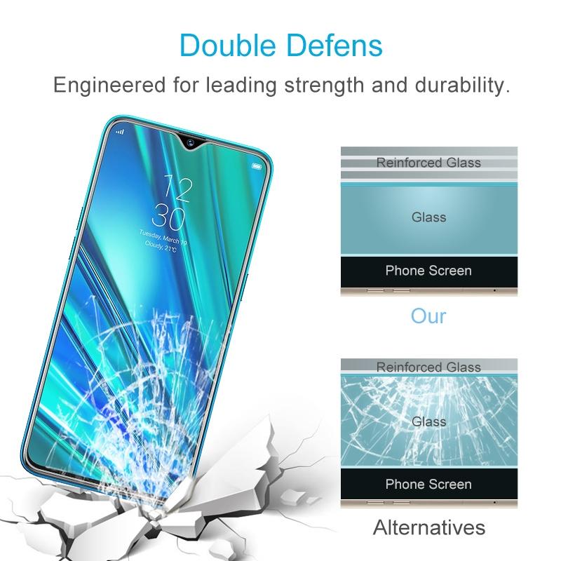 50 Pcs For Oppo Realme 5 Pro 9h 2 5d Screen Tempered Glass Film Alexnld Com