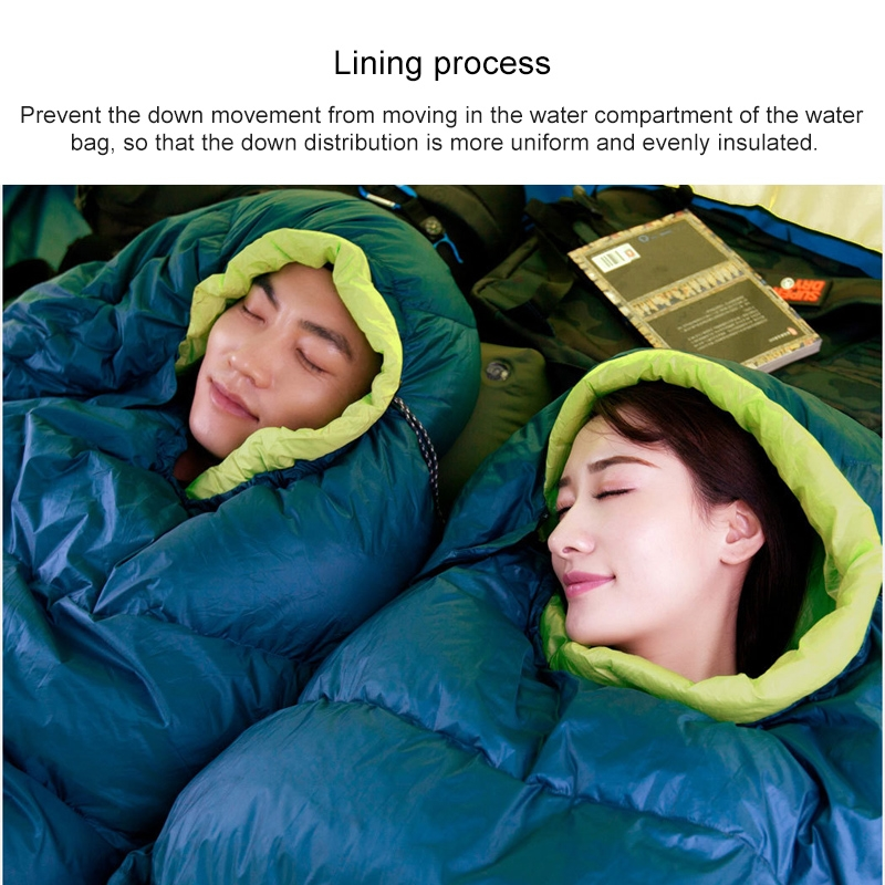 Original Xiaomi Outdoor Camping Ultra Light Down Sleeping Bag