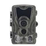 HC801A 8MP Waterproof IP65 IR Night Vision Security Hunting Trail Camera, Novatek96650 Program, 120 Degree Wide Angle, 110 Degree PIR Sensing Angle