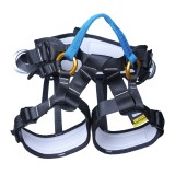 XINDA XDA9519 Outdoor Polyester High-strength Wire Downhill Seat Belt for Climbing Trees (Blue)