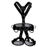 XINDA XD-6503 Outdoor Rock Climbing Polyester High-strength Wire Downhill Whole Body Safety Belt
