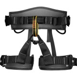 XINDA XDA9516 Outdoor Rock Climbing Polyester High-strength Wire Adjustable Downhill Whole Body Safety Belt (Black)