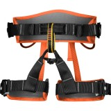 XINDA XDA9516 Outdoor Rock Climbing Polyester High-strength Wire Adjustable Downhill Whole Body Safety Belt (Orange)