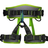 XINDA XDA9516 Outdoor Rock Climbing Polyester High-strength Wire Adjustable Downhill Whole Body Safety Belt (Green)