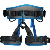 XINDA XDA9516 Outdoor Rock Climbing Polyester High-strength Wire Adjustable Downhill Whole Body Safety Belt (Blue)