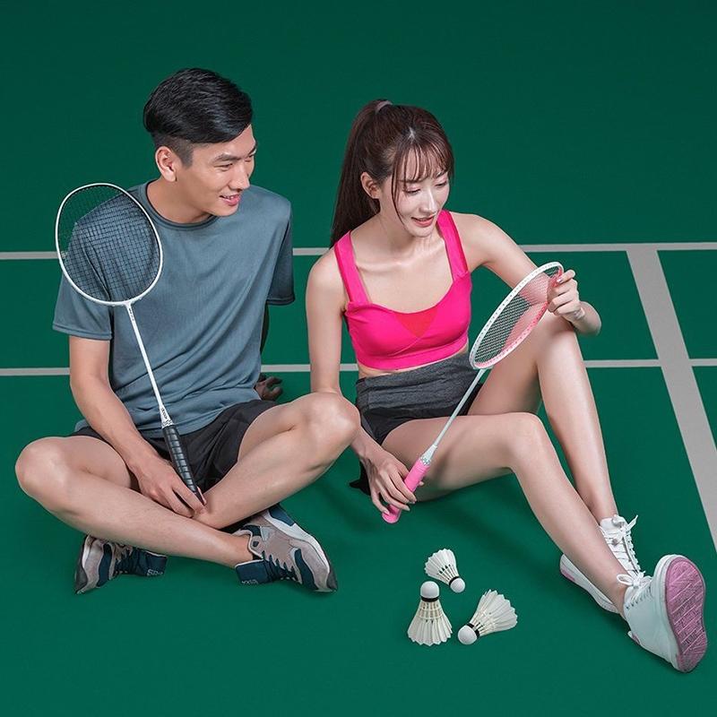 12 PCS Original Xiaomi Dooot D09 White Full Circle Duck Feather Badminton