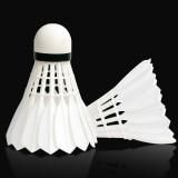 12 PCS Original Xiaomi Dooot D05 White Big Square Duck Feather Badminton