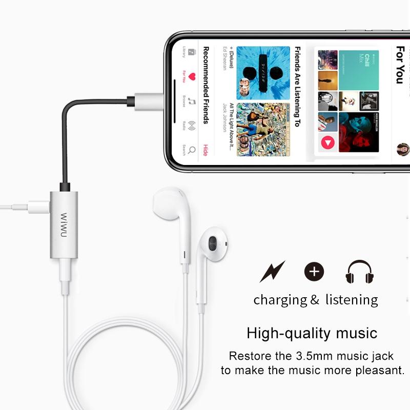 WIWU LT01苹果手机音频转接器 (https://www.wiwu.net.cn/) 手机转接器 第4张